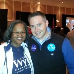Brenda Wynn and Peter McDermott
